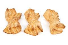 Bow tie pastry Stock Image