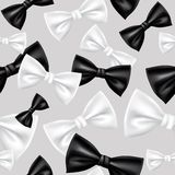 Bow tie pattern Stock Photos
