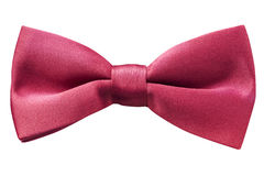 Bow Tie Red Isolated Stock Photography