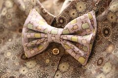 Bow tie, retro style Royalty Free Stock Photo