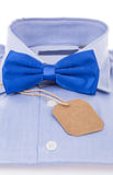 Bow tie and shirt as a gift Stock Image