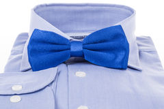 Bow tie and shirt as a gift Royalty Free Stock Images