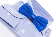Bow tie and shirt as a gift Stock Photos