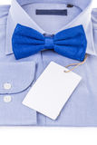 Bow tie and shirt Stock Image