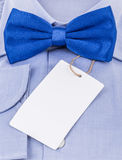 Bow tie and shirt Stock Photos