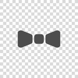 Bow tie vector icon. On white background Stock Photos