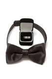 Bow tie and wedding ring Royalty Free Stock Photography
