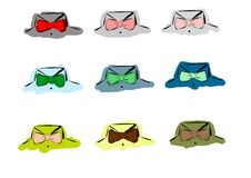 Bow ties Royalty Free Stock Image