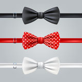 Bow Ties Realistic Set Royalty Free Stock Photography