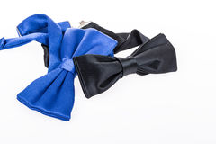 Bow ties on white Royalty Free Stock Photo
