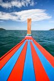 Bow of a traditional thai longtail boat Royalty Free Stock Photography