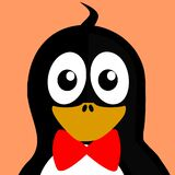Bow, Tux, Inkscape, Vector, Penguin Stock Image