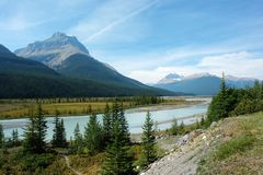 Bow valley Royalty Free Stock Photography