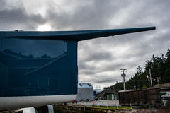 Bow of yacht Stock Photos