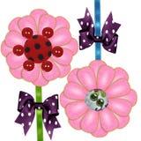 bowblommatie Royaltyfri Foto