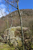 Bowder Stone, Borrowdale, Cumbria, England Stock Photography
