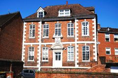 Bowdlers House, Shrewsbury. Royalty Free Stock Photography