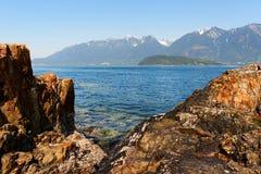 bowen brzegową wyspę Zdjęcia Royalty Free