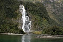 Bowen Falls New Zealand Royalty Free Stock Image