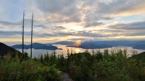 Bowen Lookout at Cypress Mountain Royalty Free Stock Photo
