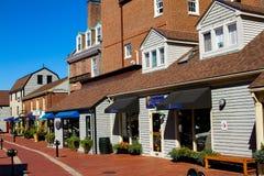 Bowen's Wharf, Newport, Rhode Island royalty free stock photography