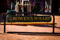 Bowen's Wharf, Newport, Rhode Island Stock Photo