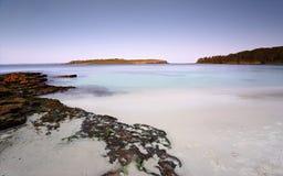 Boweneiland Jervis Bay Australia Stock Foto's