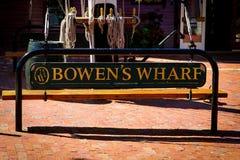 Bowens hamnplats, Newport, Rhode - ö arkivfoto