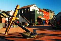 Bowens hamnplats, Newport Rhode - ö royaltyfria bilder