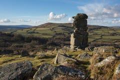Bowermans nos Dartmoor Zdjęcie Royalty Free