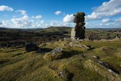 Bowermans nos Dartmoor Zdjęcia Royalty Free