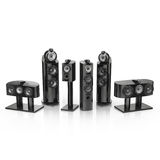 Bowers and Wilkins 800 D3 black Royalty Free Stock Photo