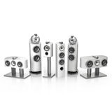 Bowers and Wilkins 800 D3 white Royalty Free Stock Photos
