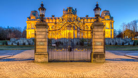 Bowes Museum just before Dawn Stock Photo