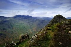 Bowfell Royalty Free Stock Photo