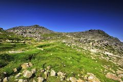Bowfell. The Summit of Bowfell, England Royalty Free Stock Photos