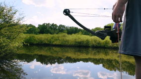 Bowfishing almacen de video