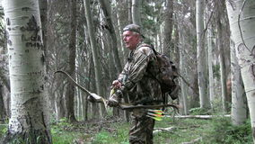 Bowhunter Stock Photo