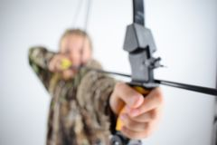 Bowhunting Foto de Stock Royalty Free