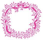 Bowknot- und Blumenmuster lizenzfreie abbildung
