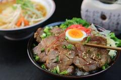 Bowl  da carne de porco Imagens de Stock Royalty Free