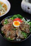 Bowl  della carne di maiale Fotografia Stock Libera da Diritti