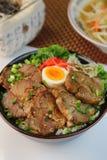 Bowl  della carne di maiale Immagine Stock