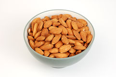 Bowl of Almonds Royalty Free Stock Photos