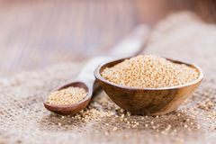 Bowl with Amaranth Stock Image