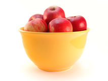 Bowl of apples Royalty Free Stock Image