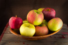 Bowl of Apples Stock Photography