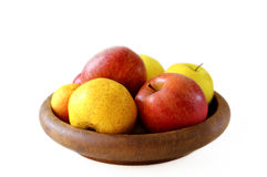 Bowl of apples Stock Images