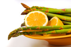 Bowl of Asparagus Royalty Free Stock Photo