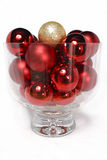 Bowl Of Baubles Royalty Free Stock Photos